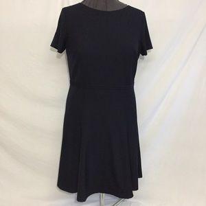 Women's Ann Taylor Navy Lined Dress Sz 12 NEW